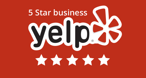 Yelp 5 stars rating