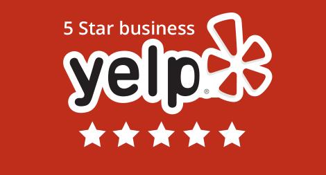 Yelp 5 stars rating
