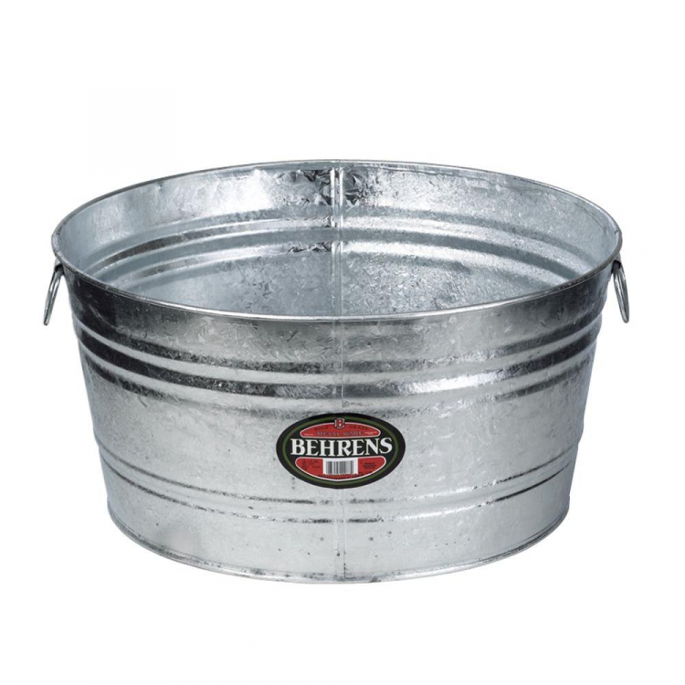 METAL ICE BUCKET - 15 GALLON