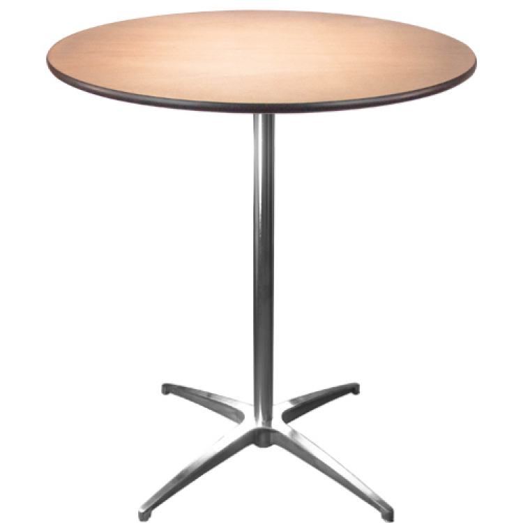 36 COCKTAIL TABLE-42 HIGH