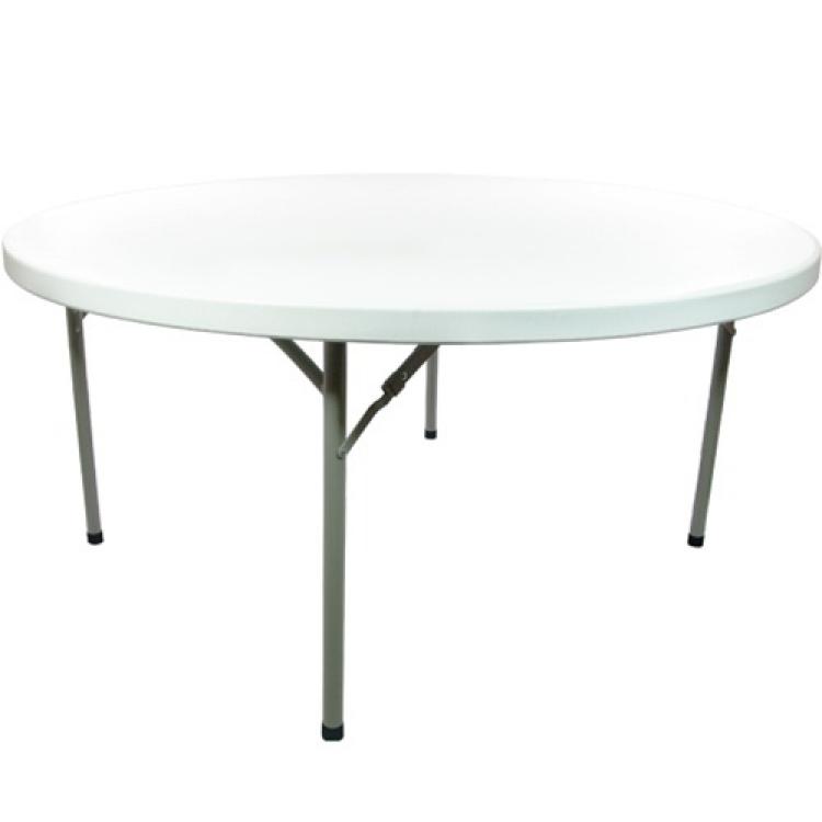 60 ROUND PLASTIC TABLE