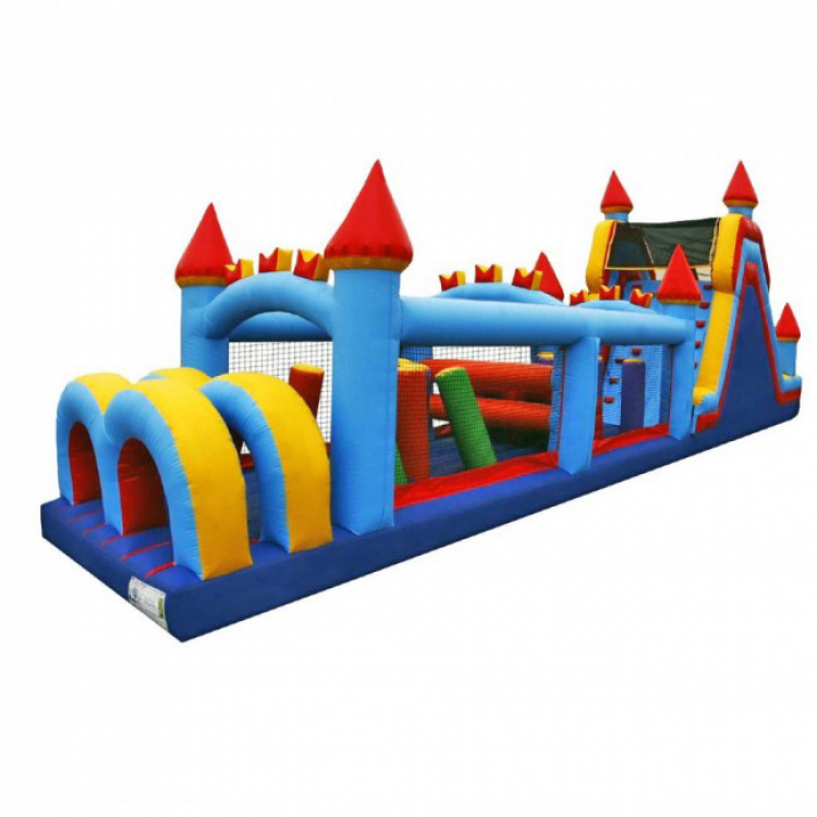 60' Castle Obstacle Course