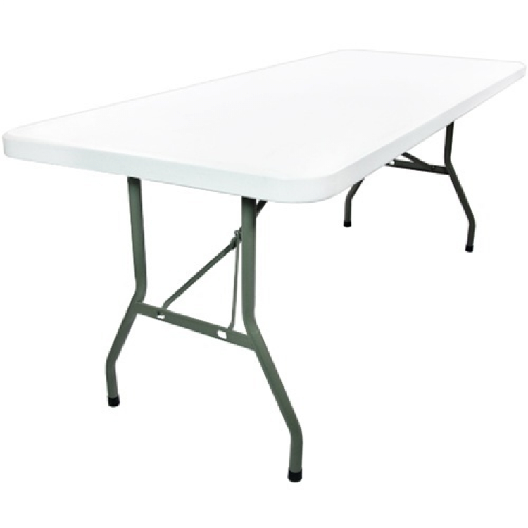 8' Rectangular Plastic Table