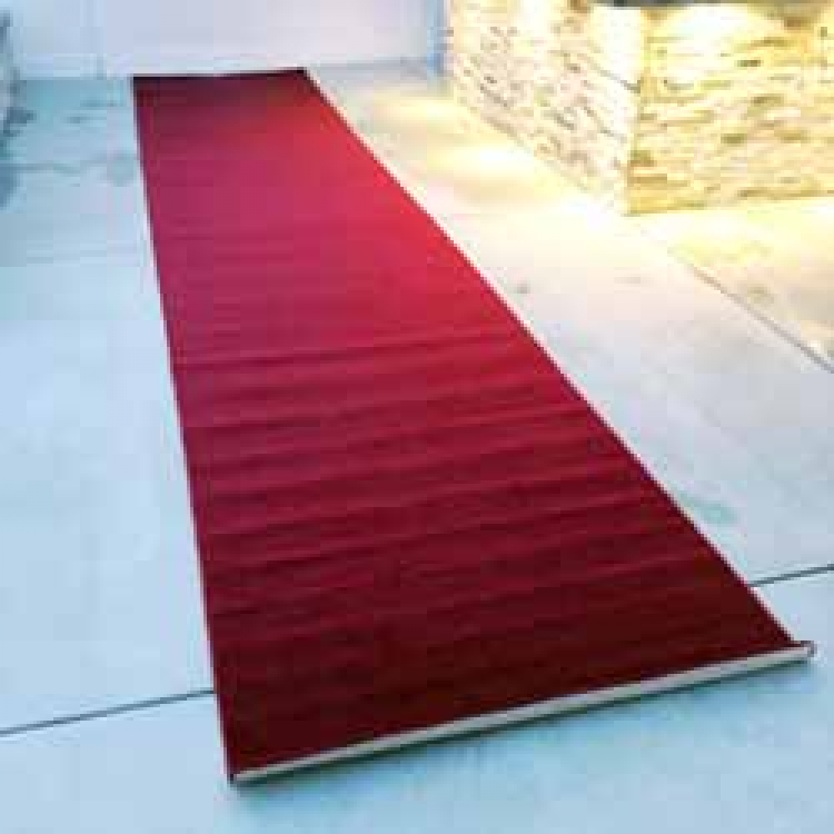 4'x 20' Red Carpet Runner