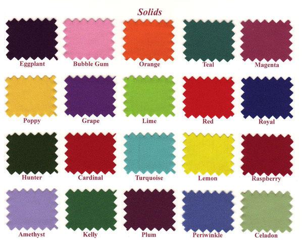 Linen Colors for Rentals in Riverside, CA