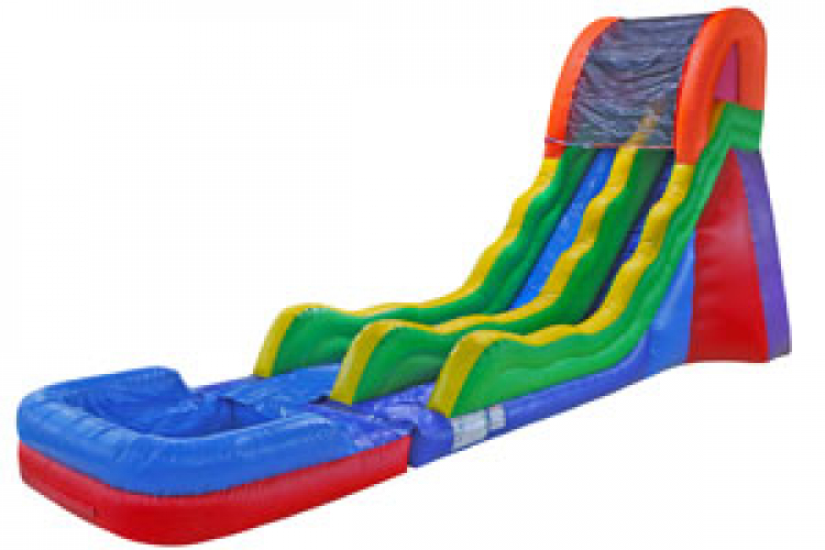 20' FUN SLIDE - WET - CALL ABOUT MIDWEEK SPECIALS!