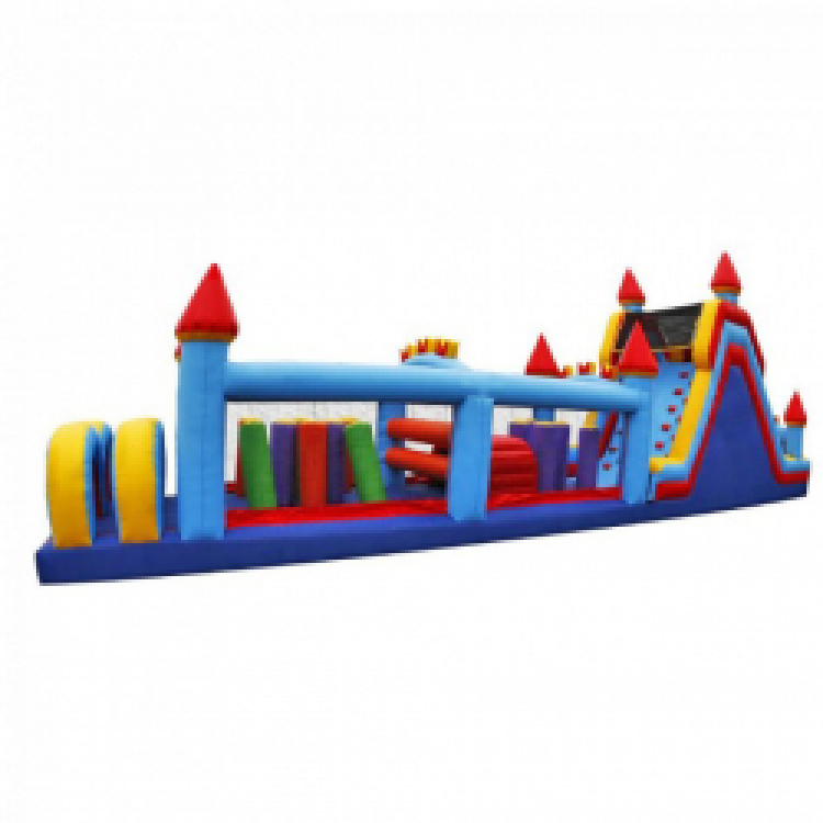 60' CASTLE OBSTACLE COURSE - CALL ABOUT MIDWEEK SPECIALS!