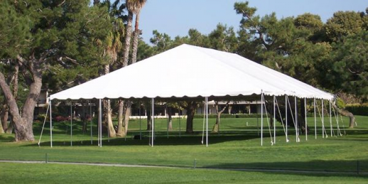 LARGE TENTS - 30' WIDE AND 40'  WIDE - PLEASE CALL FOR PRICI
